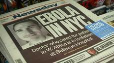 Doctor with Ebola in New York stable; nurse is virus-free