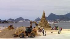 Sandcastle hits new heights