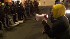 More arrests as protesters await Ferguson grand jury d
