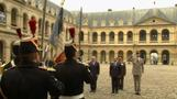 Egypt's Sisi welcomed to Paris with military honors