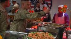 "Thanksgiving in Afghanistan: ""I am not complaining at all"""