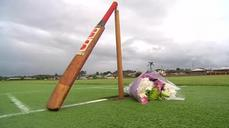 Home town grief at cricketer's death