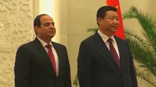 China's Xi Jinping hosts Egypt's Sisi in Beijing