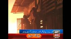 Karachi timber market ablaze