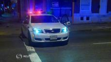 Baltimore burglary ends in police shooting
