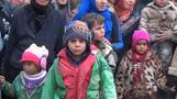 Over 1,000 Syrian civilians evacuated from near Damascus