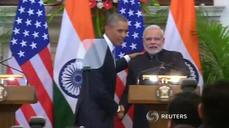 Obama reveals nuclear breakthrough on landmark India trip