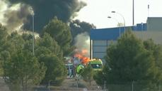 Greek fighter planes crashes in Spain, kills 10