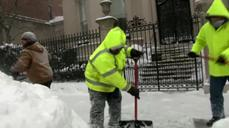 Blizzard slams Northeast; NYC spared