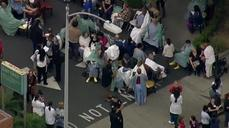 Southern California hospital evacuated after f