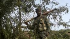 Congo army drives rebels from eastern hills in fierce fighting