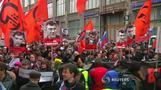 射殺されたロシア野党指導者、直前にラジオ番組出演(字幕・1日)