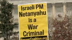 Netanyahu speech draws protesters outside U.S. Capitol