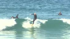 Surf's up in Southern California