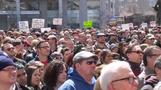 Thousands march in Indiana to protest law seen targeting gays