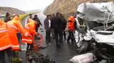 At least twelve killed in multiple car accident in Turkey
