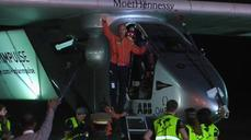 Solar airplane departs Myanmar for China