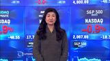 NY株反落、ダウ200ドル安(31日)