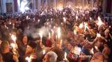 Orthodox Christians celebrate Easter's Holy Fire in Jerusalem