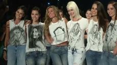 Model Gisele Bundchen takes last strut on Sao Paulo catwalk