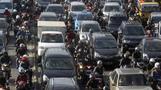 Jakarta is the world's bad traffic capital