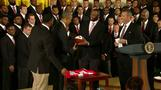 Obama honors champion Buckeyes at White House