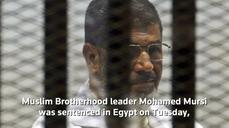 Mursi sentenced to 20 years in prison without parole