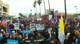 Mass march in L.A. on Armenian massacre anniversary