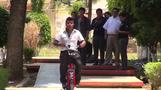 Mexican students invent eco-friendly motorbike