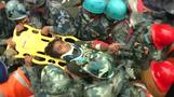 Boy pulled out alive from rubble in Nepal