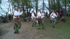 Morris men and women celebrate May Day