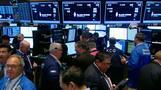 Investors buy beaten-down shares