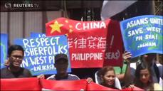 Filipino activists protest China's islands