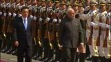China welcomes Indian PM Modi in Beijing ceremony