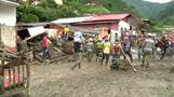 Colombia landslide victims struggle with loss of family, possessions