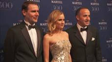 Celebrities attend Palace of Versailles party to mark 300th anniversary of Martell