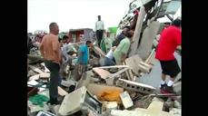 At least 11 dead as tornado rips through Mexican border town