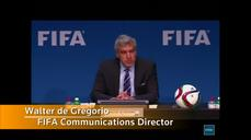 FIFA scandal - president 'not involved'
