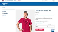 Hillary Clinton launches the Everyday Pantsuit Tee