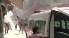 The scramble to find the living and dead in Syria