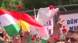 Kurds mourn after election rally bombing