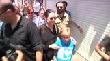 Angelina Jolie visits southeastern Turkey with daughter