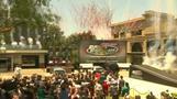 """Fast & Furious"" stars unveil theme park ride"