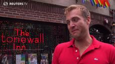 Celebrants converge on Stonewall after Supreme Court ruling