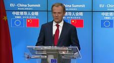 "EU's Tusk warns of ""no"" vote in Greece"