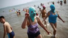 China's 'face-kini' phenomenon unmasked