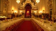 Royal treatment: Buckingham Palace opens state banquets to public