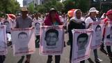 Mexicans march in memory of missing students