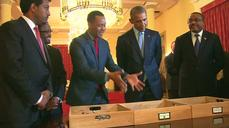 Obama meets Lucy, an ancient 'ancestor,' attends Ethiopia state dinner