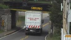 Multiple truck drivers slam into notorious bridge